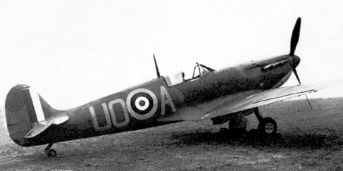 Spitfire X4593 2