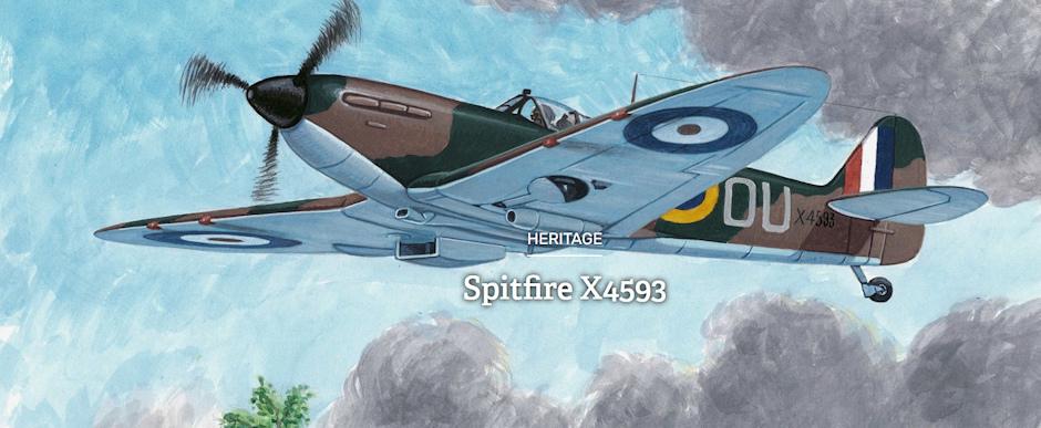 Spitfire X4593