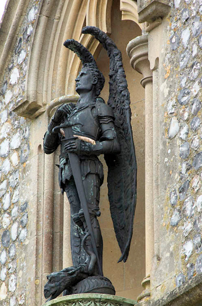 Norfolk in Brief: Booton's Archangel!