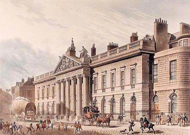 Wm Godderham (East-India-House-London-Leadenhall-Street-Thomas-1817)