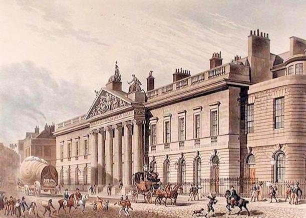 Wm Godderham (East-India-House-London-Leadenhall-Street-Thomas-1817)