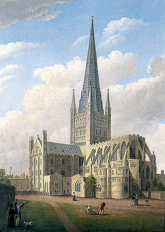 Mr Marten (Norwich cathedral)