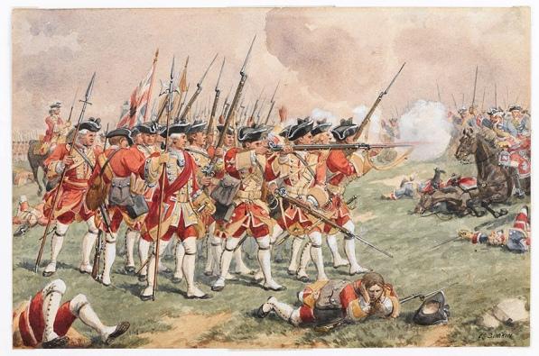 Townsend (Battle of Dettingen_NAM)