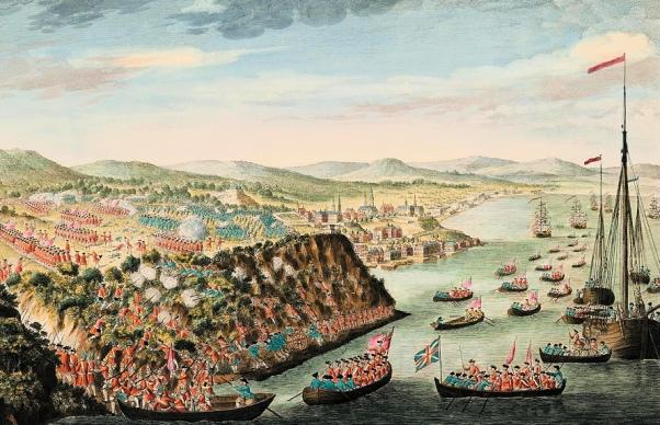 Townshend (Fleet Landing Wolde's Troops)